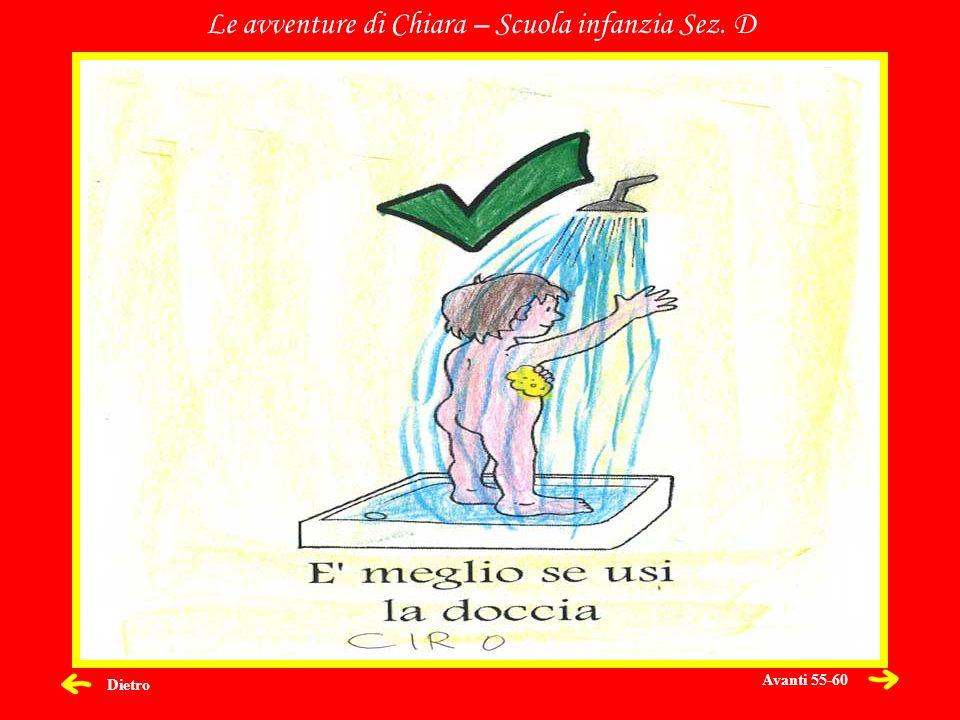 Dietro Le avventure di Chiara – Scuola infanzia Sez. D Avanti 55-60