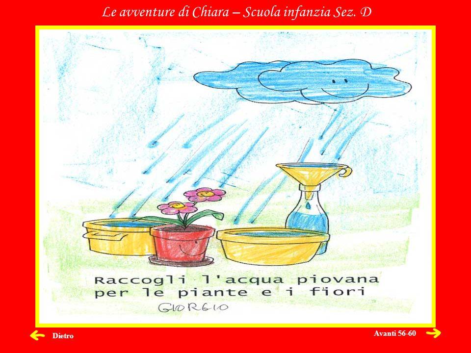 Dietro Le avventure di Chiara – Scuola infanzia Sez. D Avanti 56-60