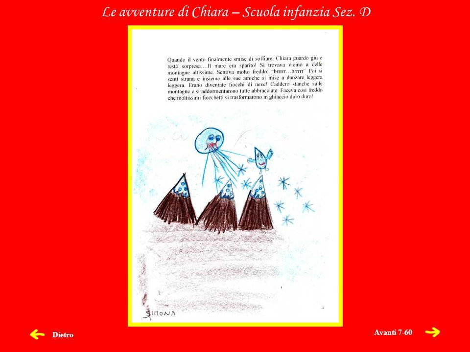 Dietro Le avventure di Chiara – Scuola infanzia Sez. D Avanti 7-60