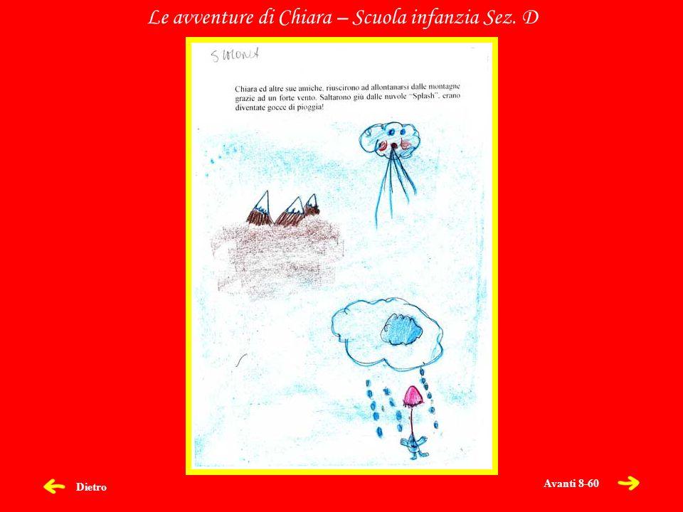 Dietro Le avventure di Chiara – Scuola infanzia Sez. D Avanti 8-60