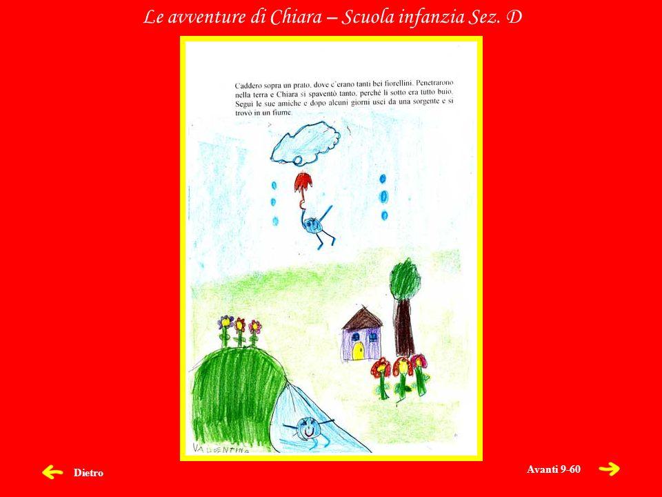 Dietro Le avventure di Chiara – Scuola infanzia Sez. D Avanti 9-60