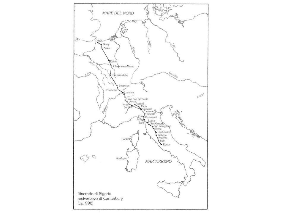 SOLUNTOCEFALU TUSA BROLO TINDARI Lo Muto Trapani-Palermo-Messina Mazara del Vallo-Agrigento-Gela Via Francigena Via Fabaria FAVARA VIZZINI LENTINI Itineraria peregrinorum
