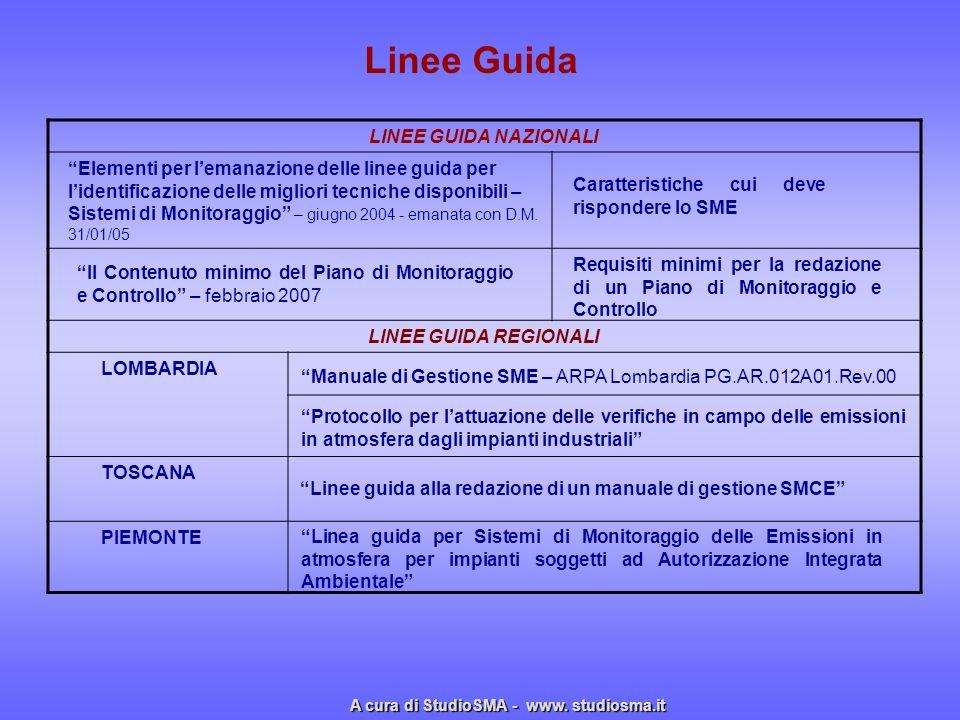 Linee Guida LINEE GUIDA NAZIONALI LINEE GUIDA REGIONALI LOMBARDIA TOSCANA PIEMONTE Elementi per lemanazione delle linee guida per lidentificazione del