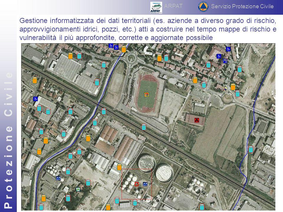 Gestione informatizzata dei dati territoriali (es.