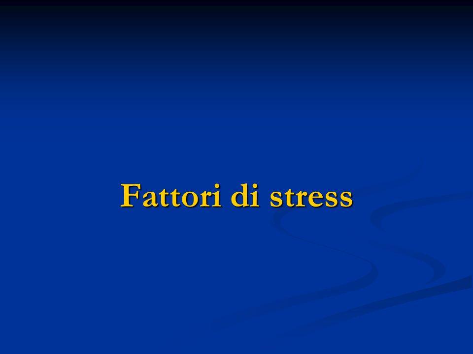 Fattori di stress
