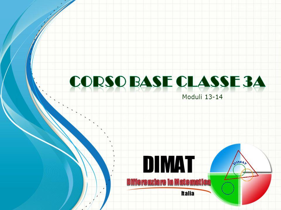 06/04/2014 Corso DIMAT 22 I vincoli e le variabili sono gli strumenti principali del docente.