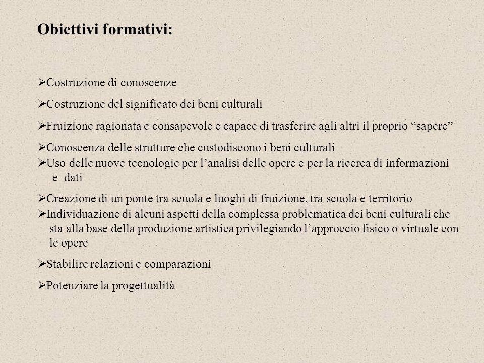 Finalità: 1.Cogliere e spiegare le relazioni sullasse sincronico e diacronico, fra i diversi elementi (opere, generi, stili, autori, poetiche, tecnolo