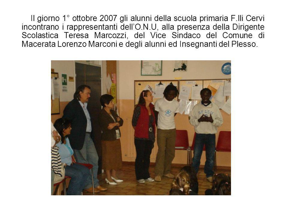 Nella.s. 2007/2008 la Scuola primaria di Via F.lli Cervi, nellambito del Progetto Facciamo pace a scuola, ha scelto come tema specifico La pace sognat