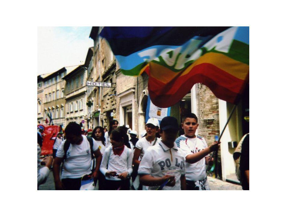 Marcia della Pace Al termine del Progetto gli alunni del Plesso di Scuola Primaria Via F.lli Cervi hanno partecipato alla Marcia della Pace organizzata dal Comune di Macerata nella vie del Centro storico ed in Piazza della Libertà il 6 giugno 2008