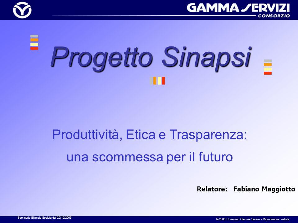 Seminario Bilancio Sociale del 20/10/2005 © 2005 Consorzio Gamma Servizi - Riproduzione vietata 11- Elenco degli esperti