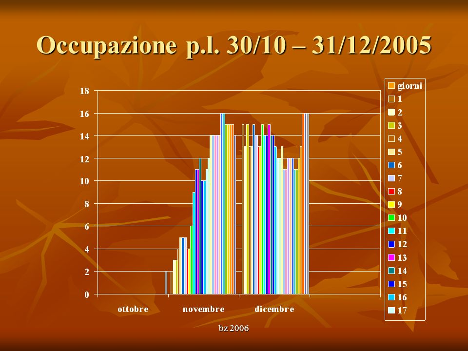 bz 2006 Occupazione p.l. 30/10 – 31/12/2005