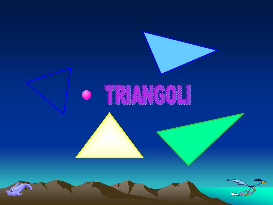 Si dice triangolo la parte di piano limitata da una spezzata chiusa di tre lati.