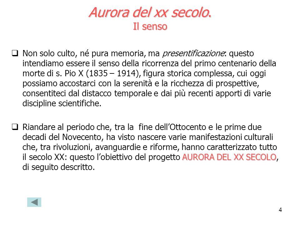 5 Aurora del xx secolo.