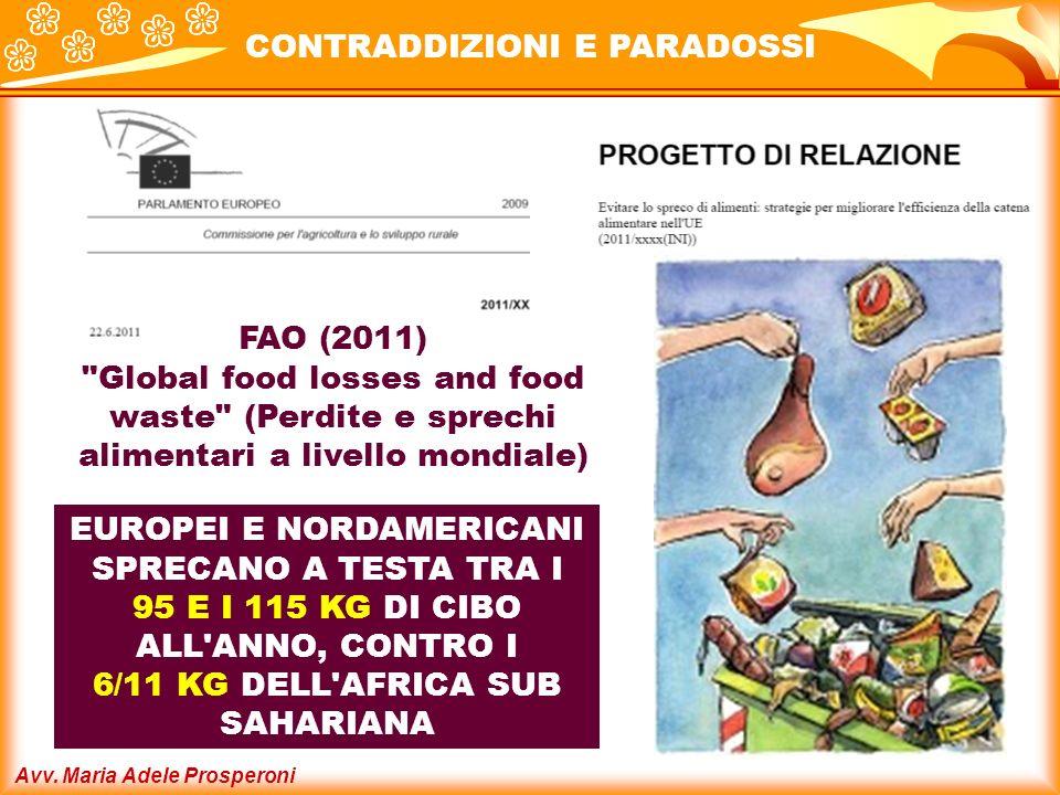 Avv. Maria Adele Prosperoni FAO (2011)