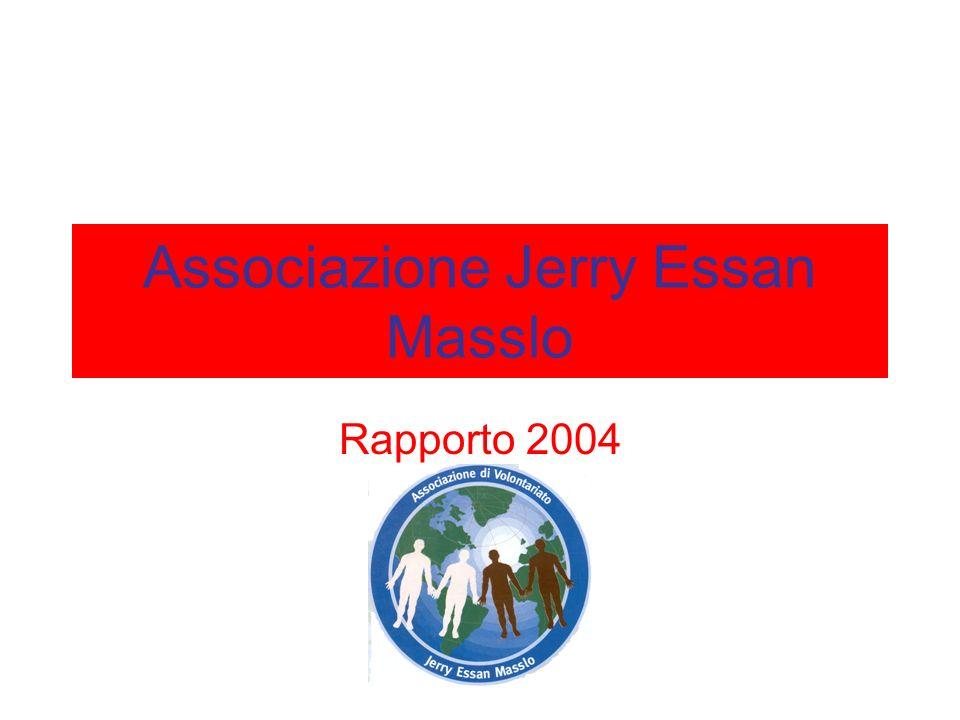 Associazione Jerry Essan Masslo Rapporto 2004