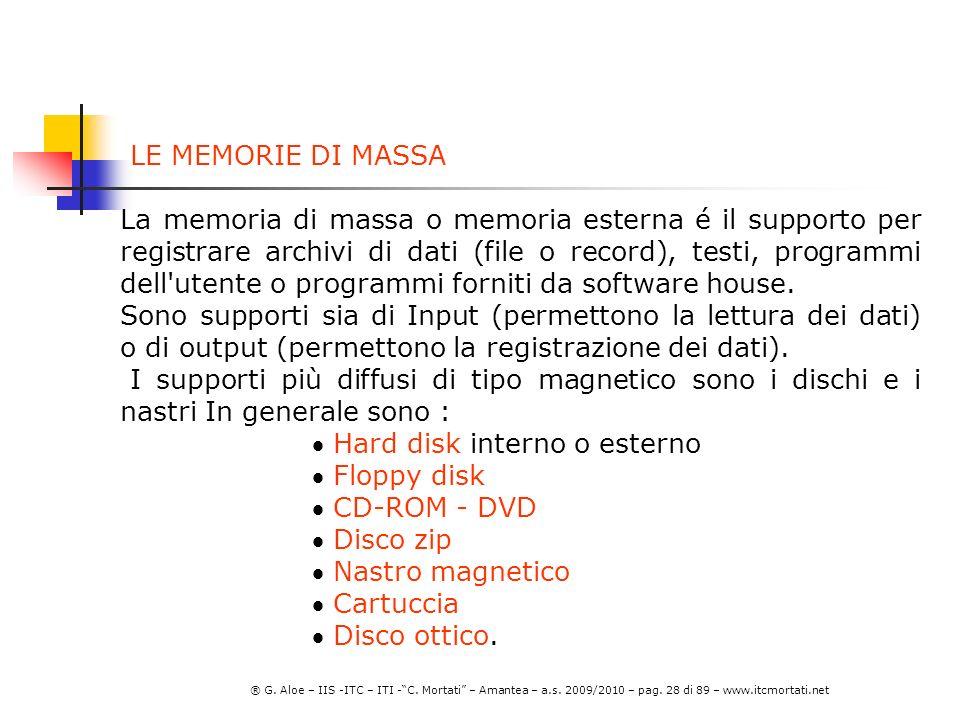 ® G.Aloe – IIS -ITC – ITI -C. Mortati – Amantea – a.s.
