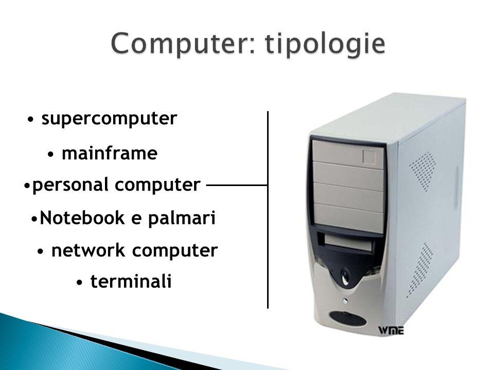ovvero grandi computer usati in grandi aziende, nelle banche e ovunque ci sia bisogno di gestire una complessa e delicata rete di computer e apparecch