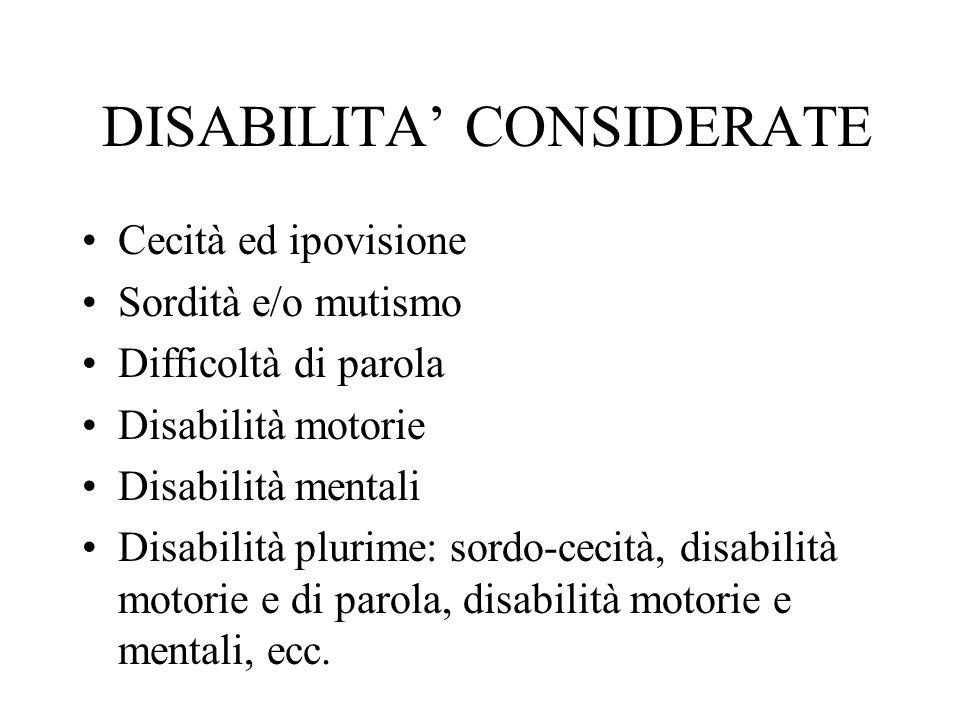 SISTEMA DI PERSONAL COMPUTERS Specialmente dedicato a disabili motori gravi