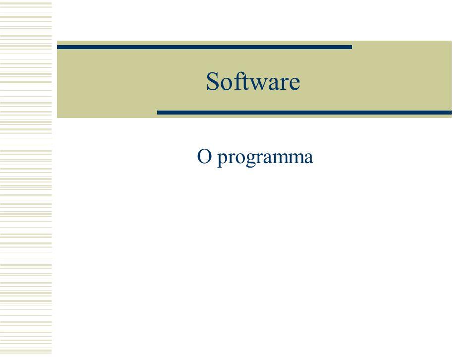 Software O programma