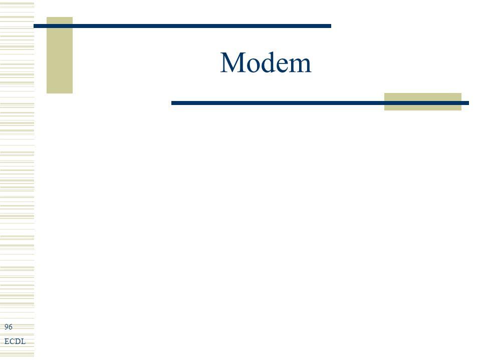 96 ECDL Modem