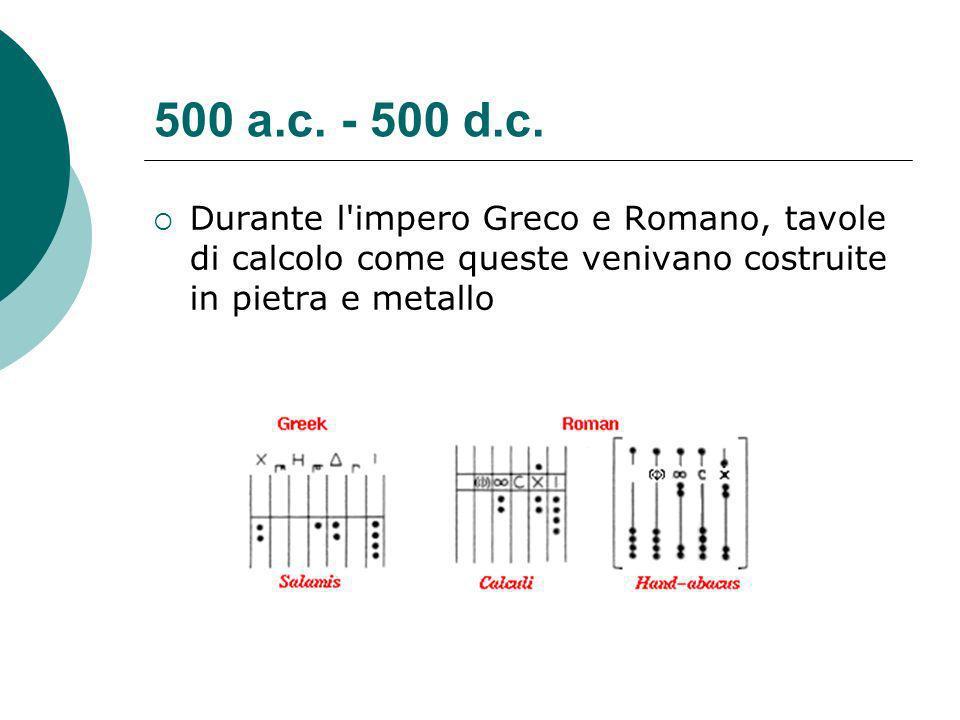 500 a.c.- 500 d.c.