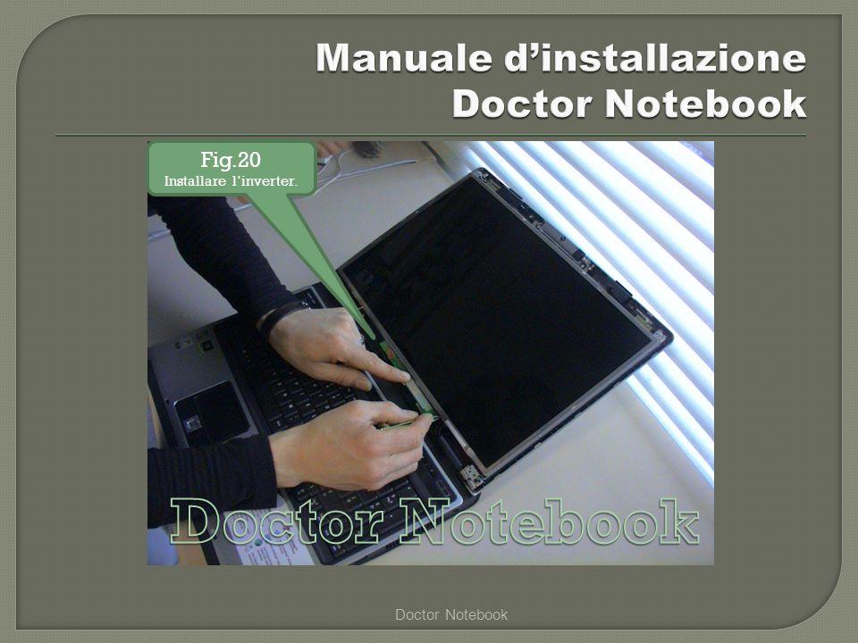 Doctor Notebook Fig.20 Installare linverter.