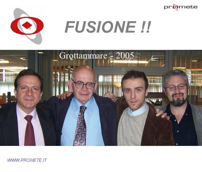 WWW.PROMETE.IT FUSIONE !! Grottammare - 2005