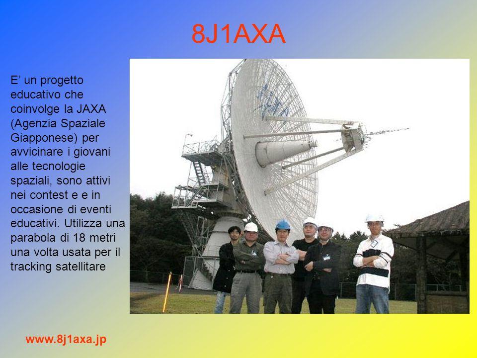 8J1AXA www.8j1axa.jp E un progetto educativo che coinvolge la JAXA (Agenzia Spaziale Giapponese) per avvicinare i giovani alle tecnologie spaziali, so