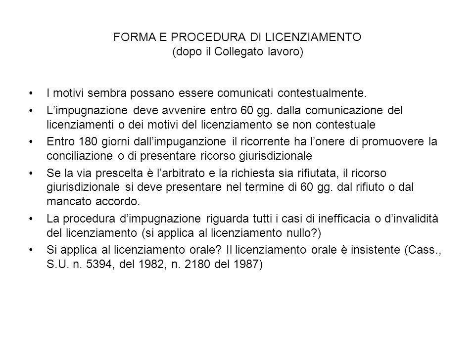 Prova dei fatti cass., sez.lav., 24-01-2007, n. 1579.