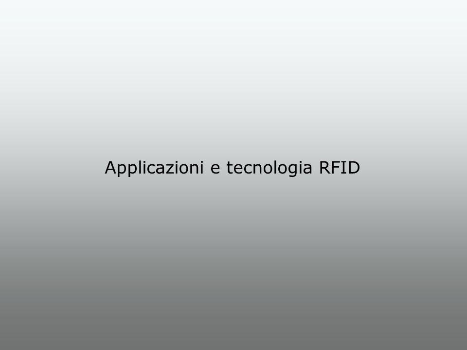 Applicazioni e tecnologia RFID