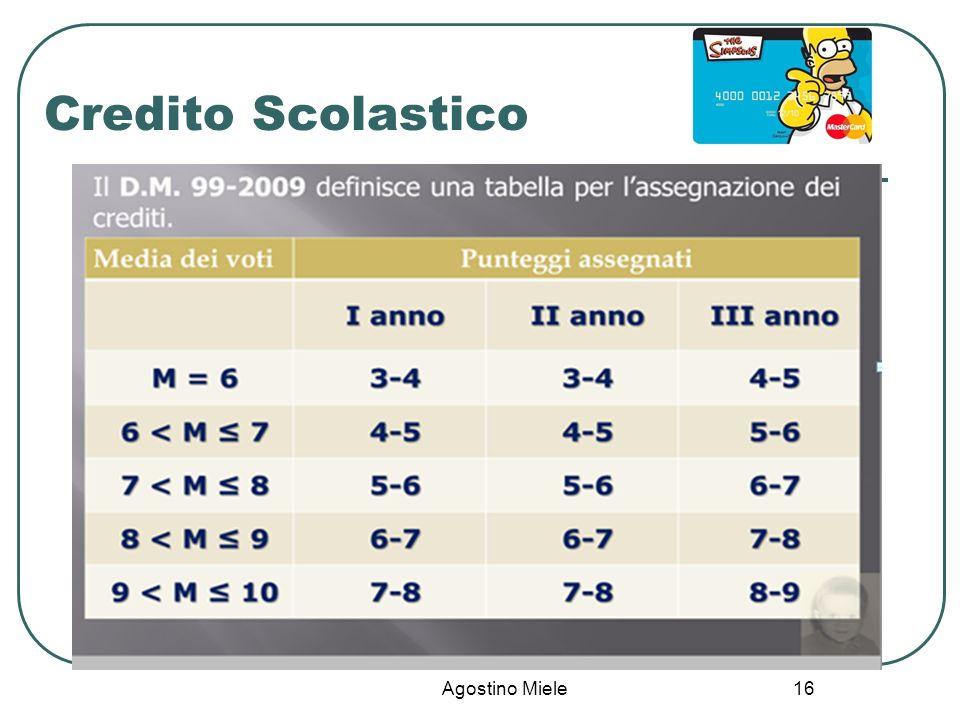 Agostino Miele Credito Scolastico 16