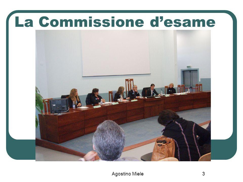 Agostino Miele La Commissione desame 3
