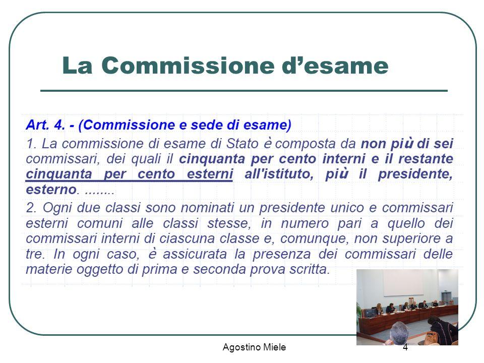 Agostino Miele La Commissione desame 4