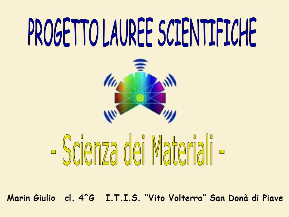Marin Giuliocl. 4^G I.T.I.S. Vito Volterra San Donà di Piave