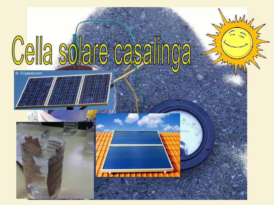 La cella solare costituisce il dispositivo elementare alla base di ogni sistema fotovoltaico per la produzione di elettricità.