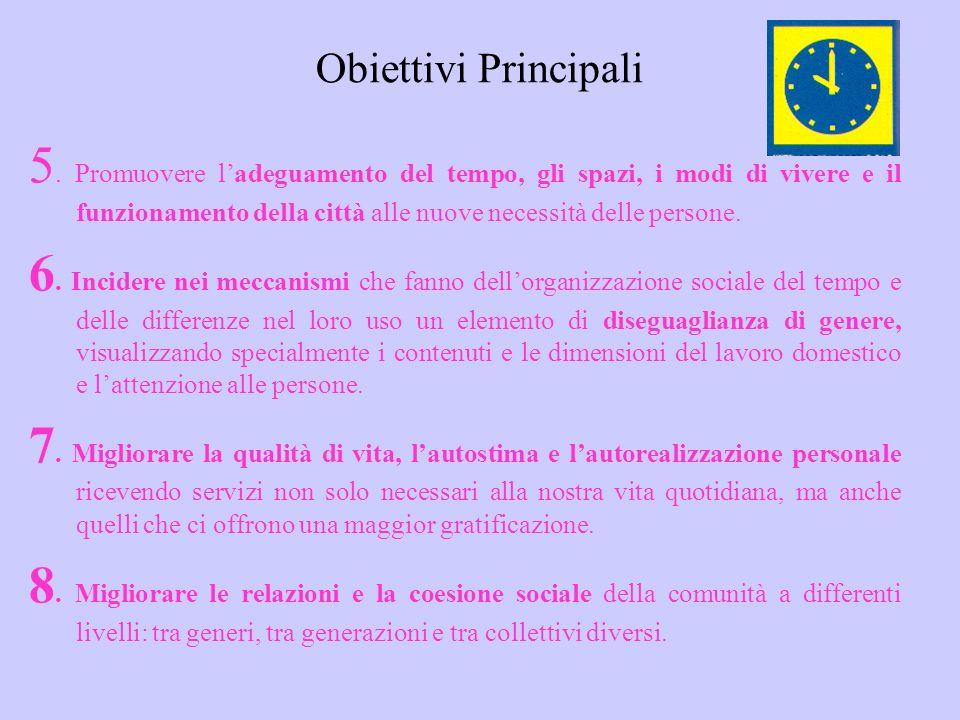 Obiettivi Principali 5.