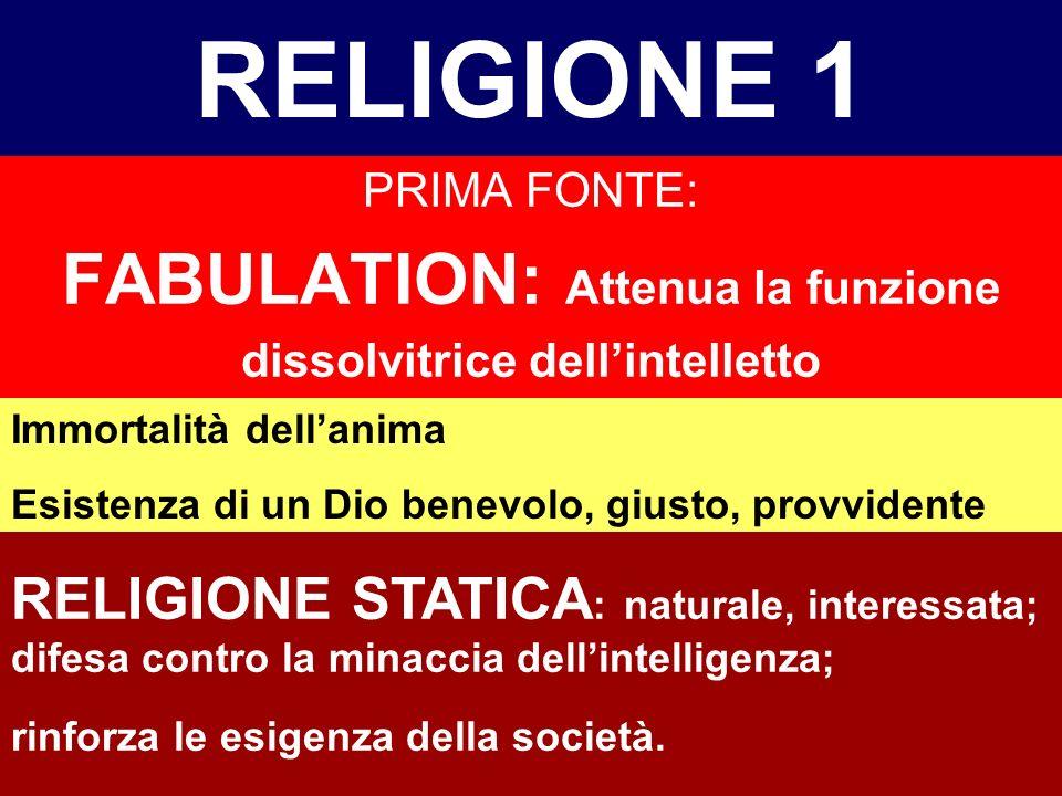 DUE FONTI DELLA MORALE E DELLA RELIGIONE (1932) UOMO CON LA SUA INTELLIGENZA SCOPRE LA SUA SUPERIORITA, MA ANCHE LA SUA INFELICITA (consapevole della