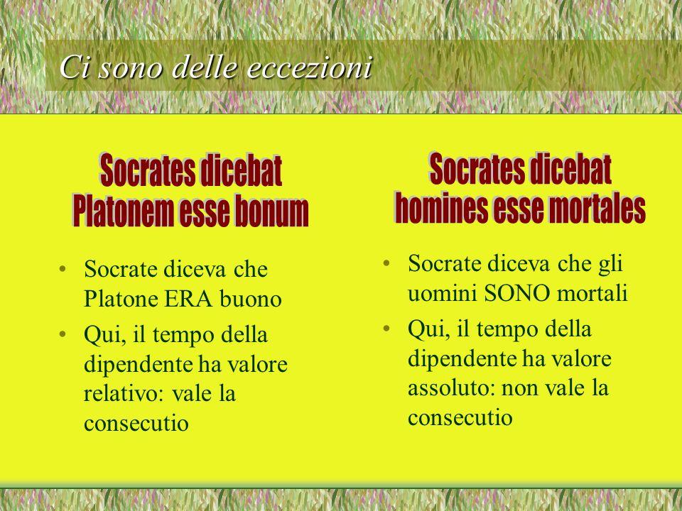 Come si traduce linfinito dipendente? Litaliano, per loggettiva, non usa linfinito, ma lindicativo. Quindi, usa tempi diversi quando il latino usa sem
