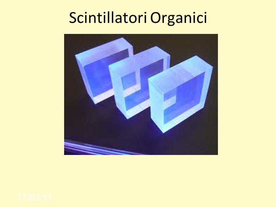 Scintillatori Organici 17/03/11