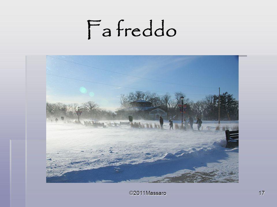 ©2011Massaro17 Fa freddo