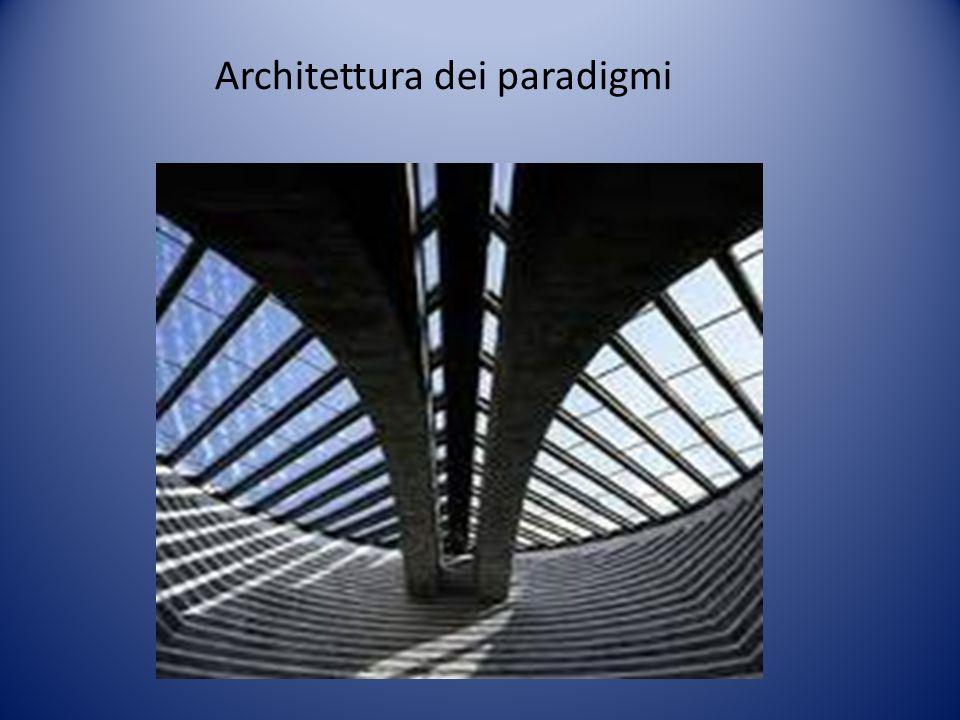 Architettura dei paradigmi