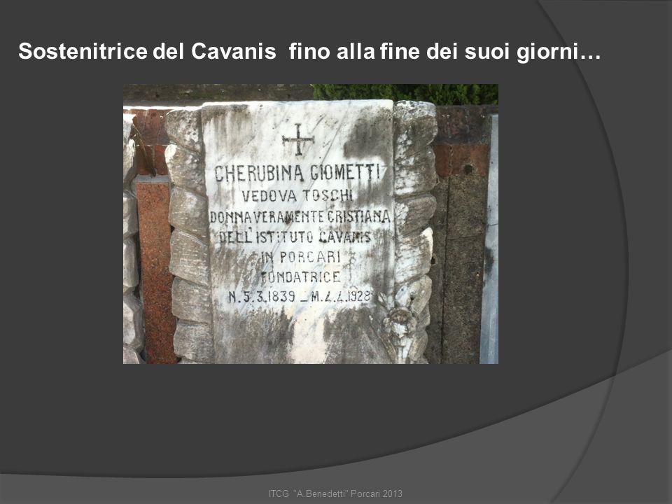 ITCG A.Benedetti Porcari 2013 Tutto ebbe inizio… …nel 1919