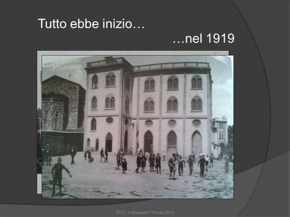 ITCG A.Benedetti Porcari 2013 La scuola in evoluzione…