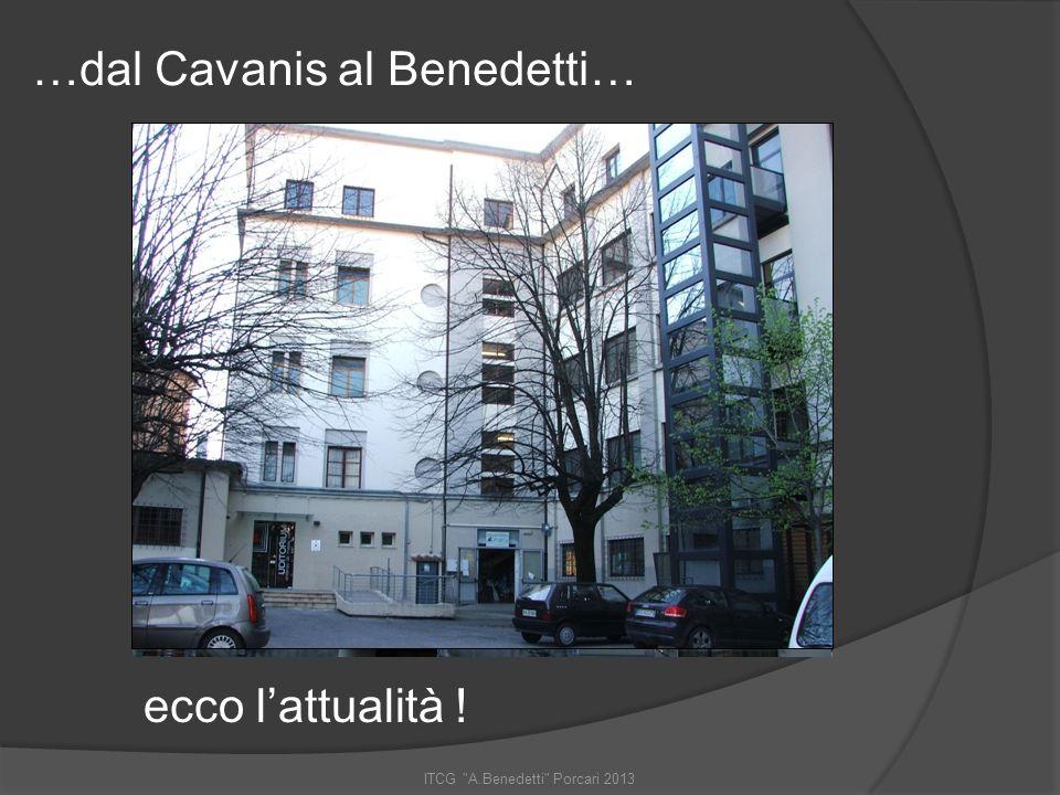 ITCG A.Benedetti Porcari 2013 E infine: la visione dei geometri … Prof. Bonelli