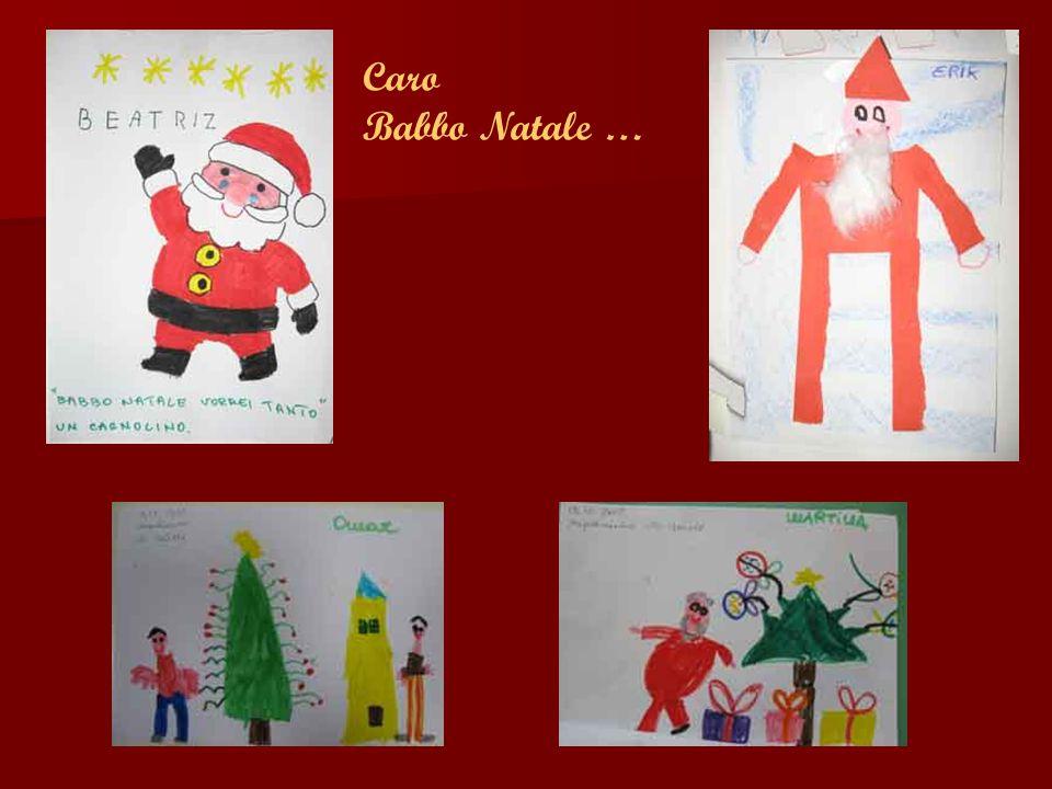 Caro Babbo Natale …