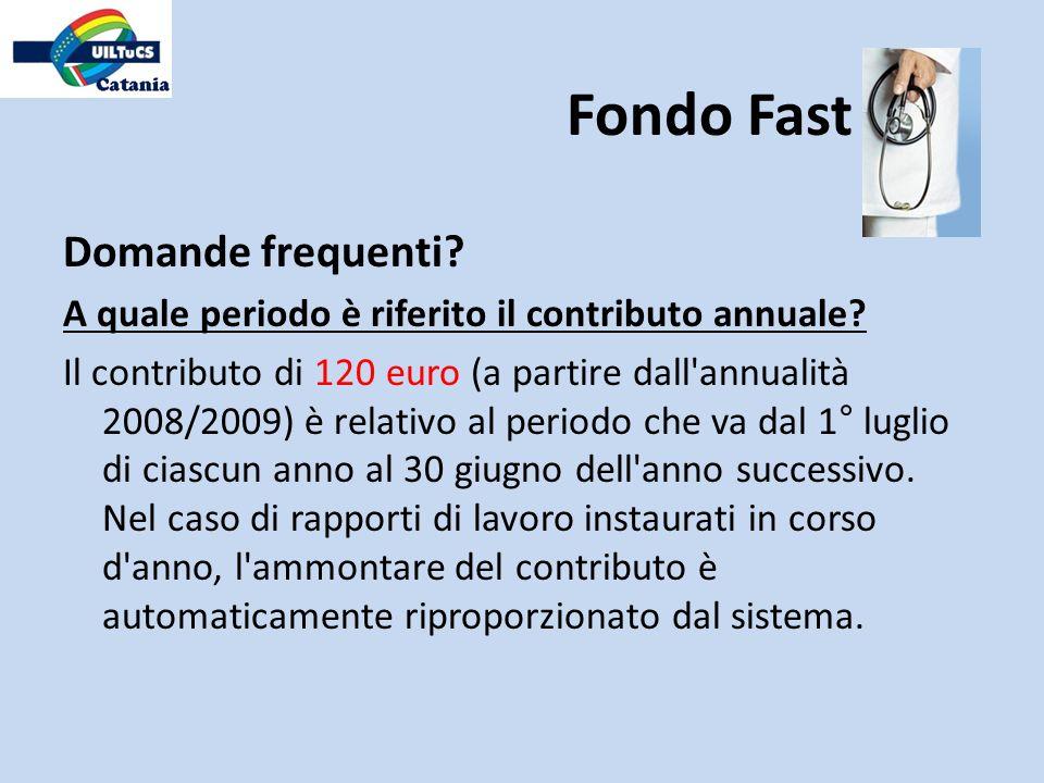 Domande frequenti? A quale periodo è riferito il contributo annuale? Il contributo di 120 euro (a partire dall'annualità 2008/2009) è relativo al peri