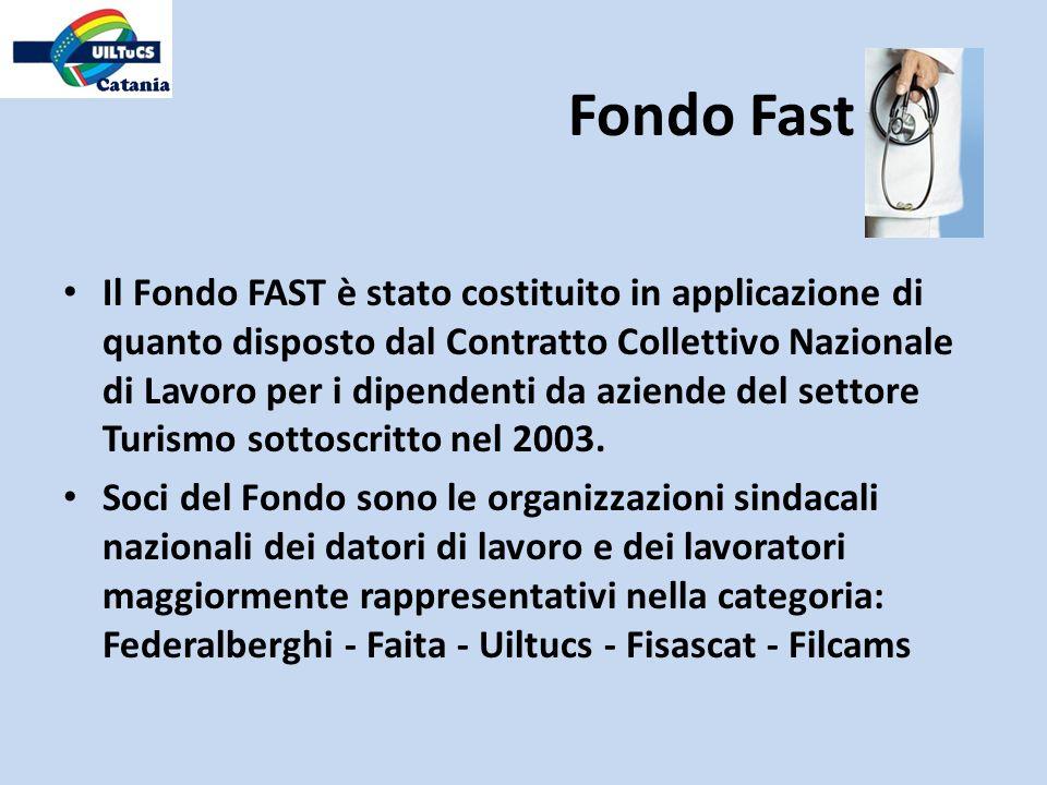 Prestazioni in strutture convenzionate con il Fondo Fast Il Fondo Fast, tramite la Società, ha predisposto per gli iscritti un sistema di convenzionamenti con strutture sanitarie private.