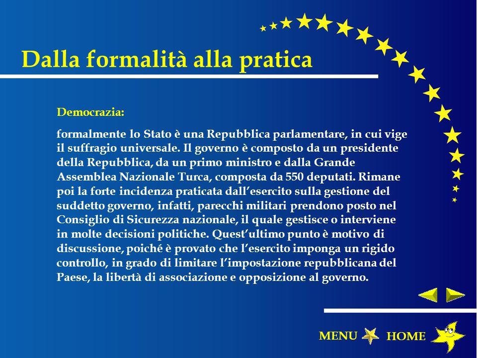 Democrazia: formalmente lo Stato è una Repubblica parlamentare, in cui vige il suffragio universale. Il governo è composto da un presidente della Repu