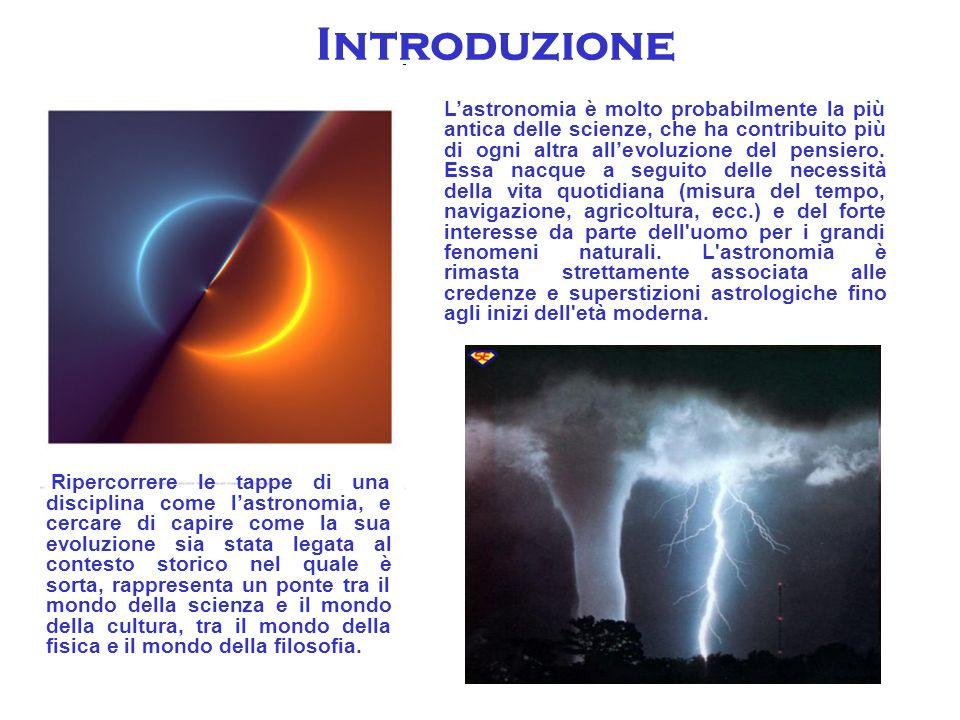 GLI ALBORI E impossibile identificare il luogo o il momento preciso della storia, della nascita dell astronomia.