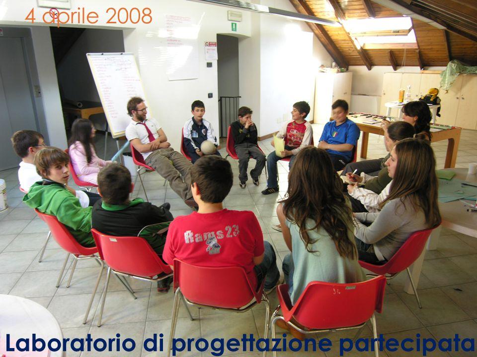 4 aprile 2008 Laboratorio di progettazione partecipata